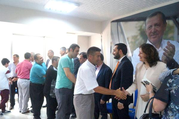AK Parti Silivri bayramlaştı