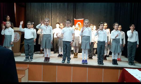 İstiklal Marşı Yarışması'nda Silivri'de bir ilk