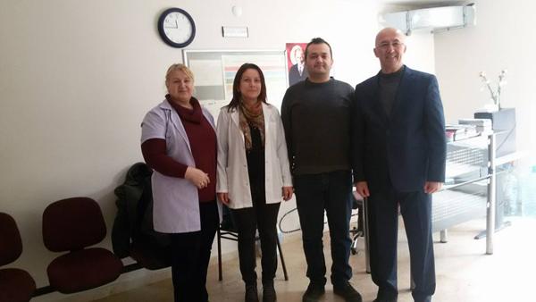 Çeşmecioğlu'ndan Tıp Bayramı ziyareti