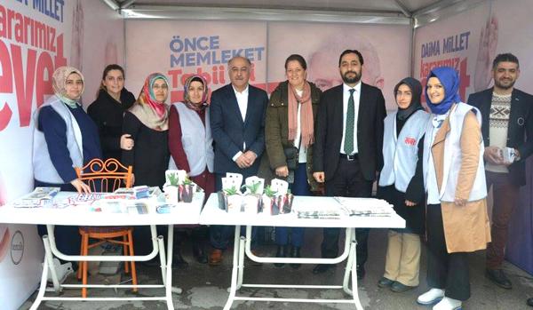 Silivri Referandum çalışmalarına Güngören desteği