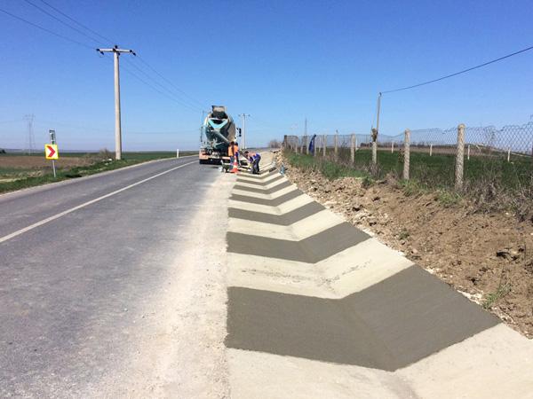 Köylere 73 km yağmur suyu kanalı
