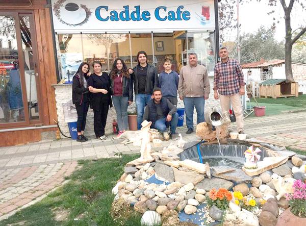 Değirmenköy'ün Parlayan İncisi; Cadde Cafe...