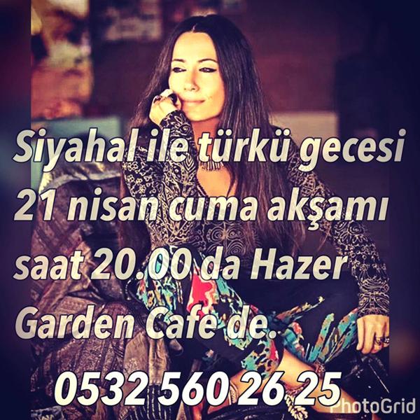 Hazer Cafe'de Türkü keyfi