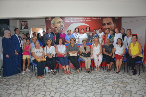 CHP'ye 33 yeni kadın üye
