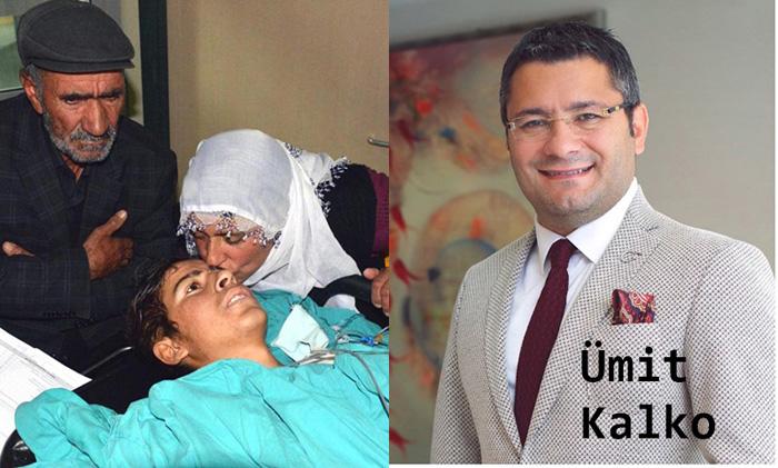 Ellerini kaybeden genç ile ailesine Kalko'dan destek