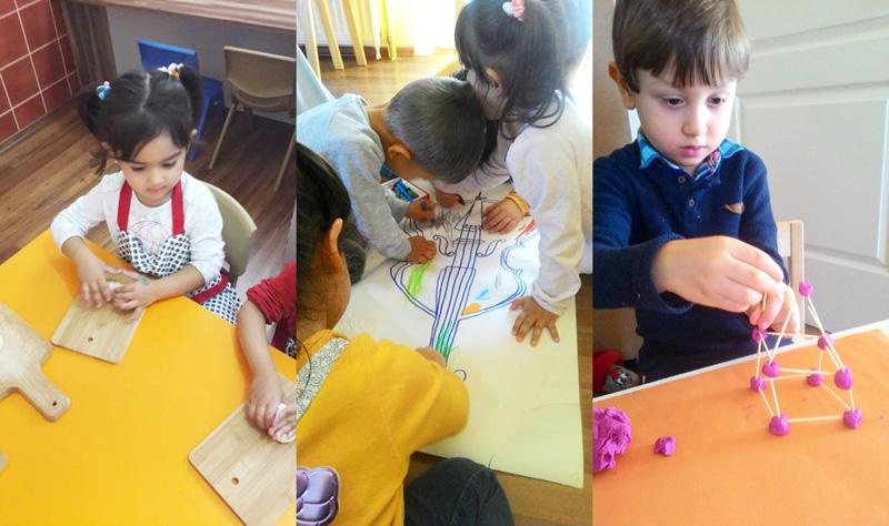 Çınar Anaokulu'nda Atölye Programları sürüyor