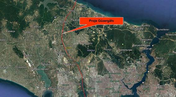 Kanal İstanbul'un güzergahı ortaya çıktı