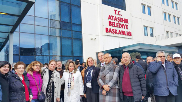 CHP Silivri'den İlgezdi'ye destek