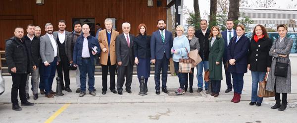 Gazeteciler Gününde medya mensuplarıyla bir araya geldiler