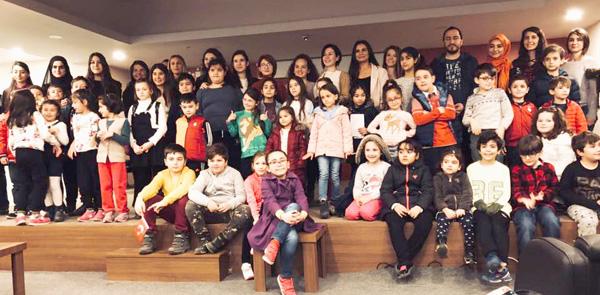 Çizgi öğrencileri  Çocuk Üniversitesi'ne başladı