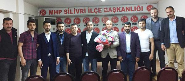 Tokatlı Gençlerden, MHP'ye ziyaret
