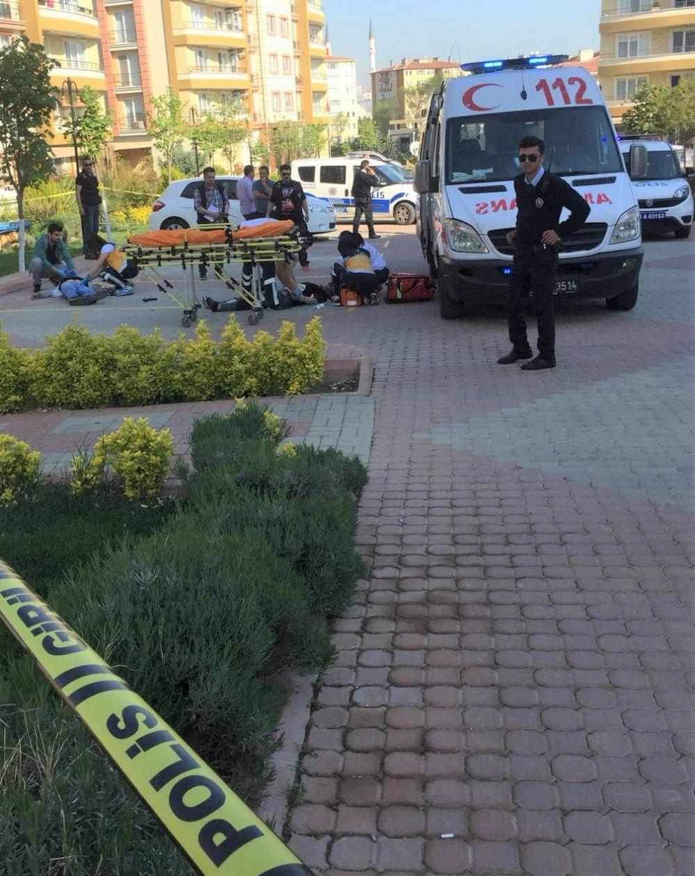 Göksu Park Evleri'nde silah sesleri: Kadını vurup intihar etti