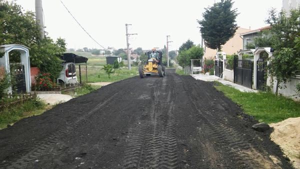 Seniye Sokak asfaltlandı