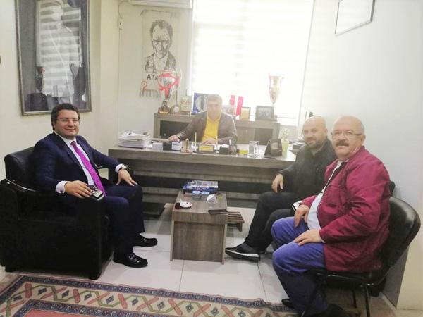 Kalko'dan Alibeysporlu yöneticilere tebrik ziyareti
