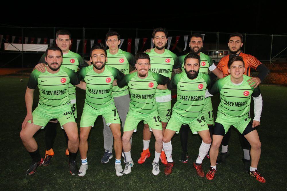 Gazitepe'de muhteşem turnuva açılışı
