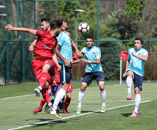 Alibeysporlu gençlerden Milli hazırlık: 3-2