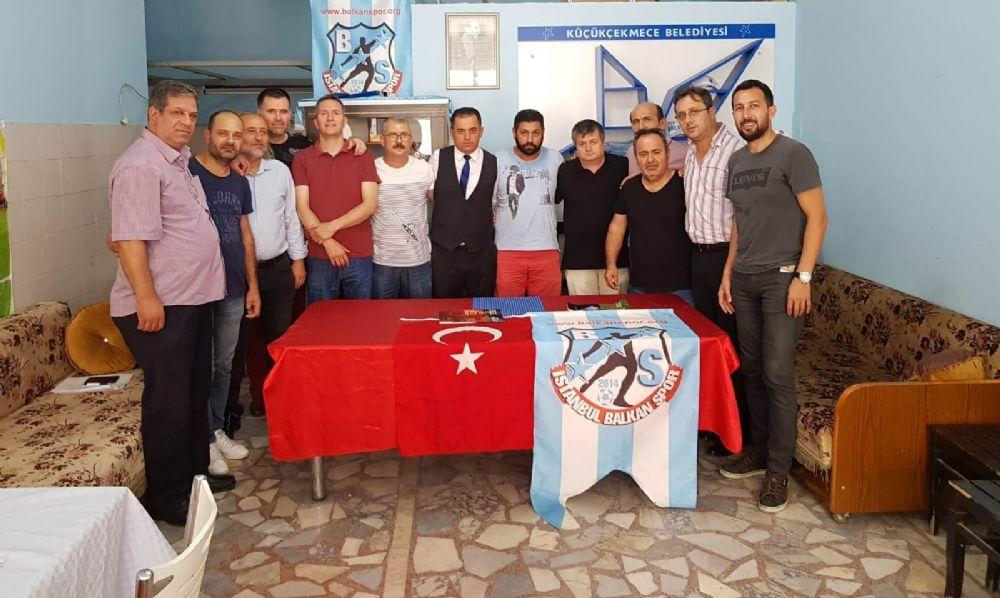İSTANBUL BALKANSPOR'DA RIDVAN VATANSEVER, GÜVEN TAZELEDİ