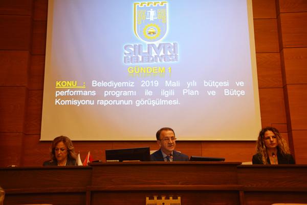 Silivri Belediyesi'nin  2019 bütçesi onaylandı