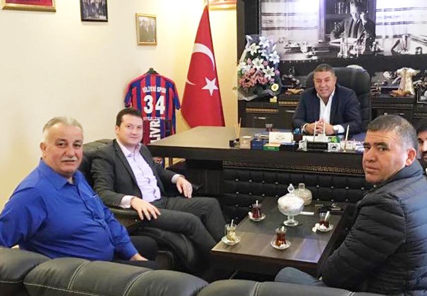 CHP'nin başkan aday adayları Koçer'i ziyaret etti