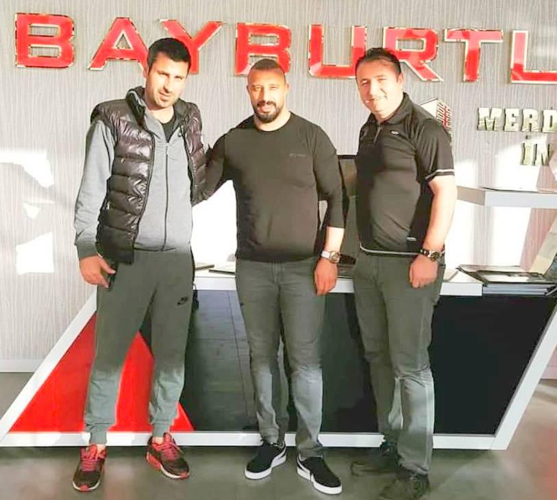 Alibeyspor'dan Bayburtlu'ya teşekkür