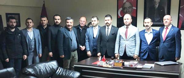 MHP Çorlu'dan ziyaret