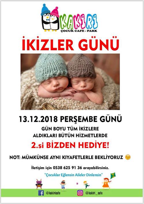 Kakiri'de İkizler Günü