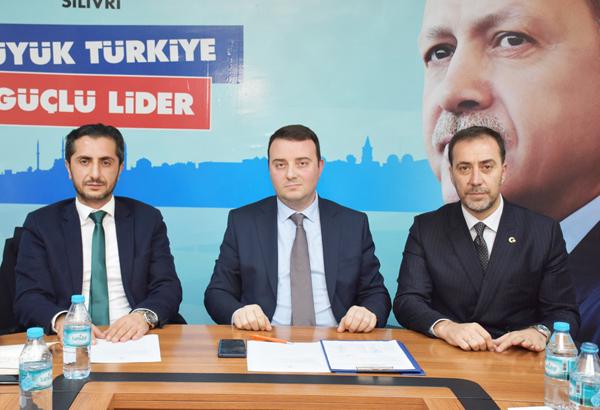 Yılmaz, AK Parti yönetim toplantısına katıldı