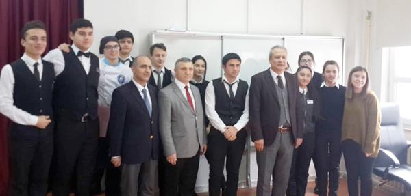 Partal'dan Selimpaşa İMKB Lisesine ziyaret
