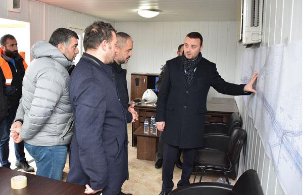 Bozoğlu, Selimpaşa Battı-Çıktı projesini inceledi