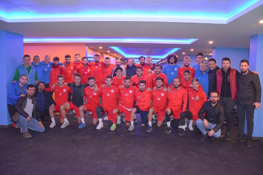Bayburtlu, Silivrispor'u BAY-GYM'de ağırladı