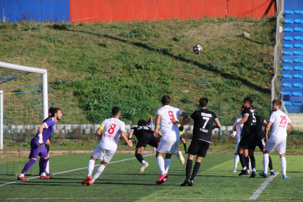 Silivri'de şaibeli kararlar sonuca etki etti 1-1