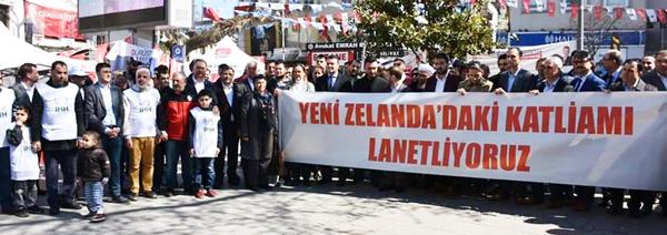 Silivri STK'ları Yeni Zellanda katliamını kınadı