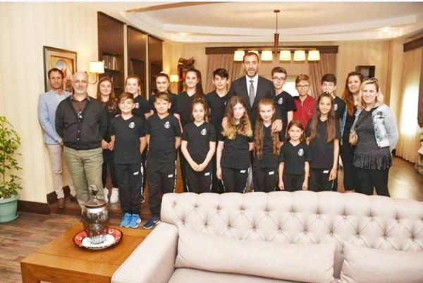 Silivri Dans Derneği'nden Başkan Yılmaz'a ziyaret