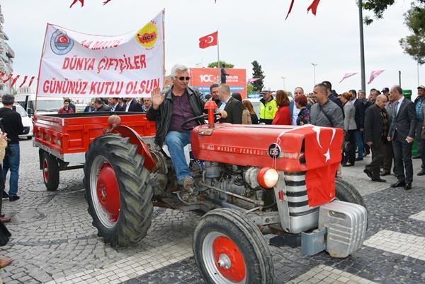 Çiftçiler Günü'ne renkli kutlama