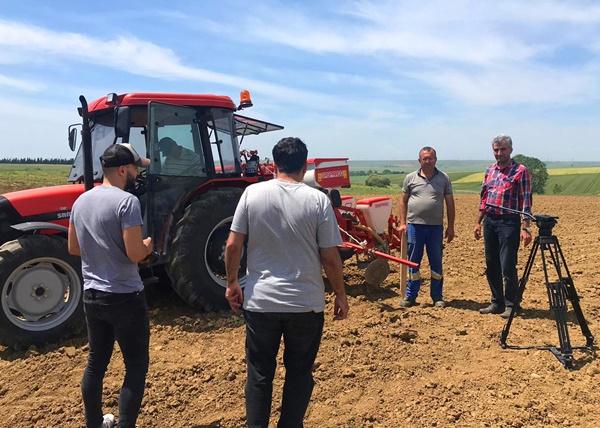 İBB, yerli tohum ekimine TÜRAM'da başladı