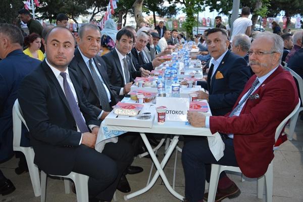 MHP'liler Yıldırım için oy istedi
