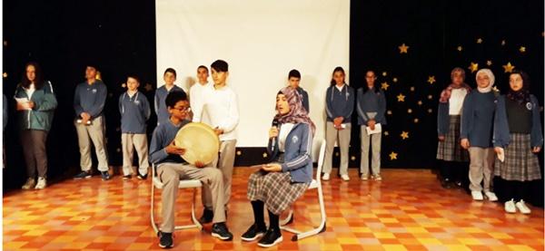 Gazi öğrencileri Yunus Emre'yi andı