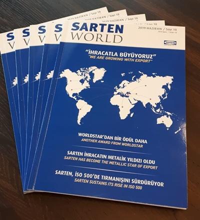 Sarten World 18. sayısı çıktı