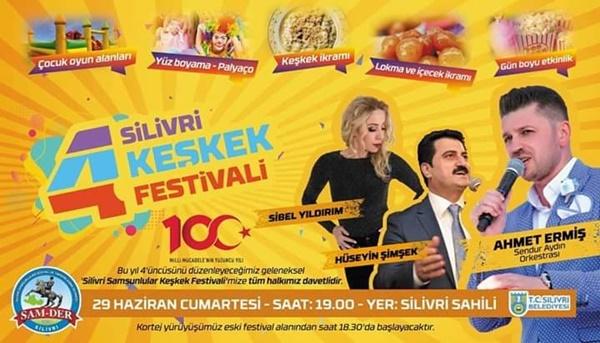 4. Silivri Keşkek Festivali'ne davetlisiniz