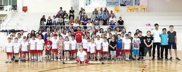 Yaz Spor Okulları eğitimleri sürüyor