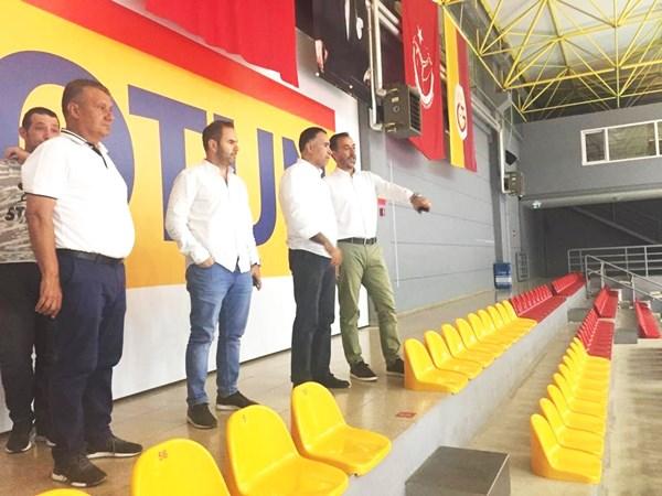 Galatasaray tesislerini ziyaret ettiler
