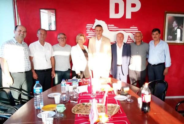 DP İl Teşkilat Başkanı Silivri'deydi