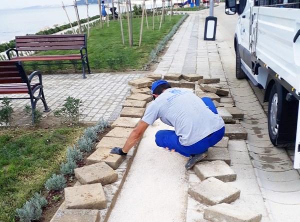 Park ve bahçelere bakım ile onarım