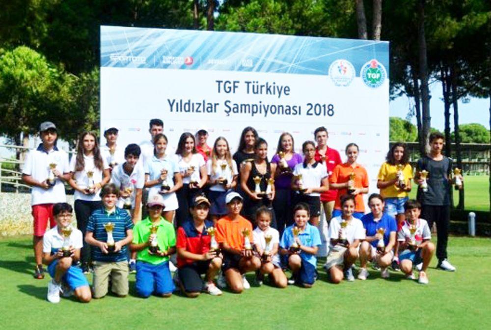 TGF Türkiye Yıldızlar Şampiyonası Silivri'de başlıyor