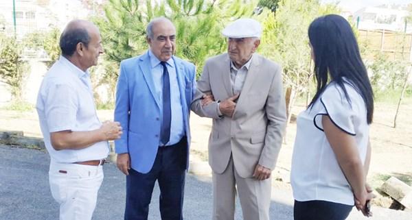 Baldöktü, MEB Emekli Genel Müdürü Balıbey'i ağırladı
