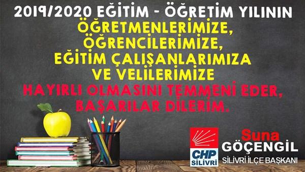 Göçengil'den yeni eğitim öğretim yılı mesajı