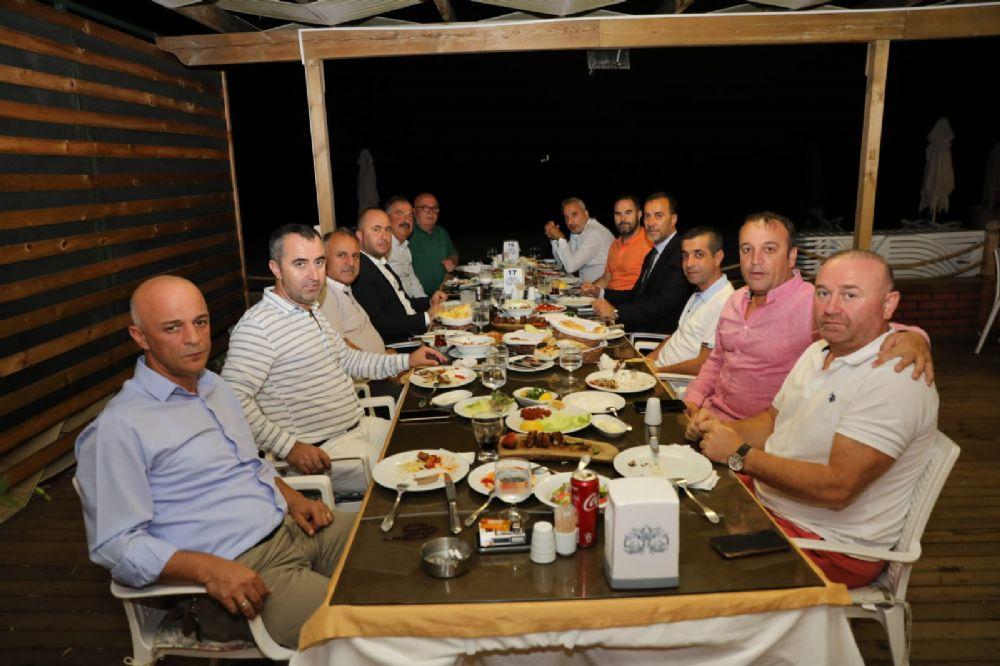 Silivrispor yönetimi Volkan Başkanla yemekte buluştu