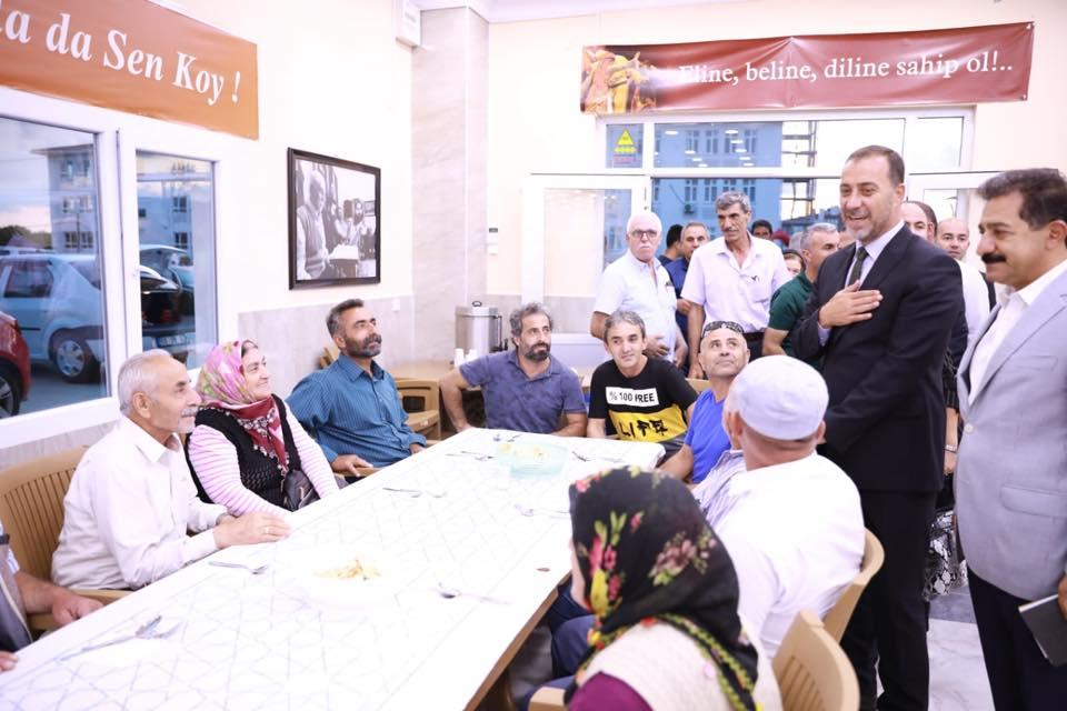 Başkan Yılmaz Muharrem Ayı iftarına katıldı