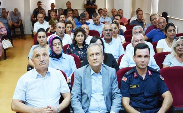 Okul Güvenliği toplantısı düzenlendi