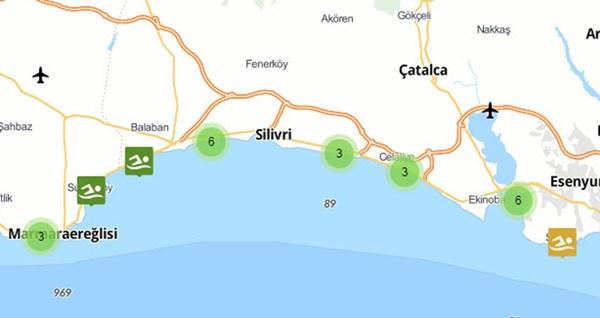 Plajlarımızdaki yüzme suyunun Eylül sonuçları